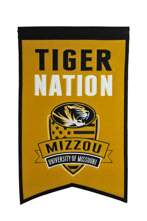 University of Missouri Nations Banner | Man Cave Decor | 30011