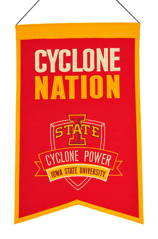 Iowa State University Nations Banner | Man Cave Decor | 30036