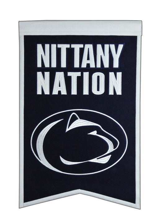 Penn State University Nations Banner | Man Cave Decor | 30041