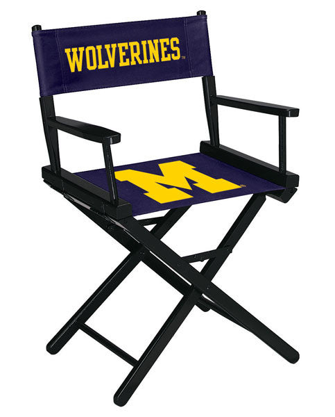 "University Of Michigan 34"" Directors Chair 