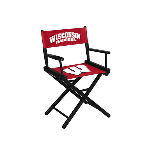 "University Of Wisconsin 34"" Directors Chair 