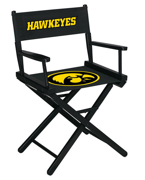 "University Of Iowa 34"" Directors Chair 