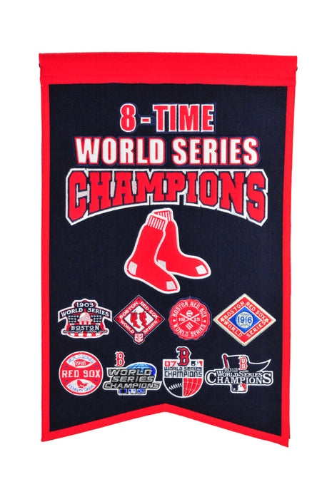 Boston Red Sox Champs Banner | Man Cave Decor | 30512