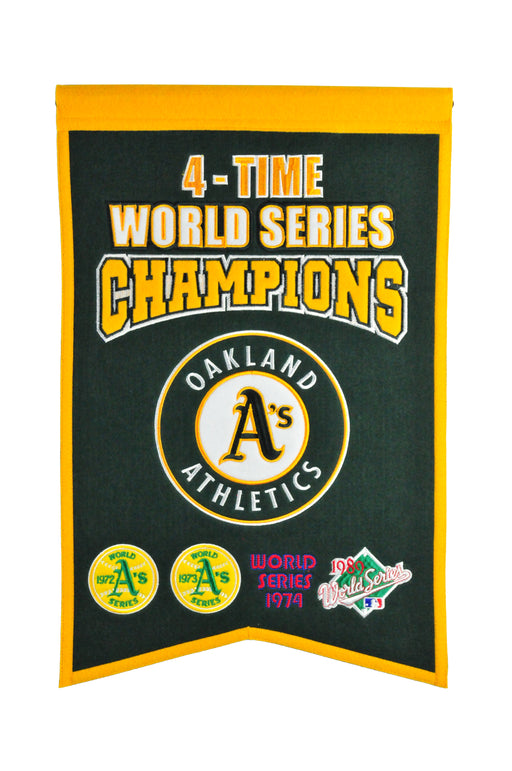 Oakland Athletics Champs Banner | Man Cave Decor | 30524
