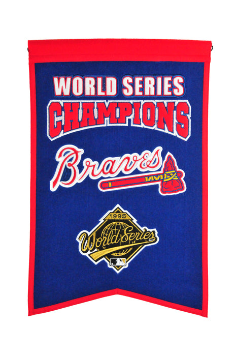 Atlanta Braves Champs Banner | Man Cave Decor | 30530