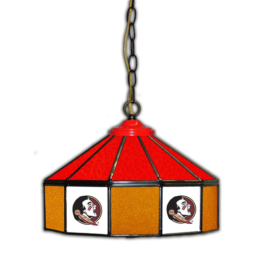 Florida State University Stained Glass Pub Lamp | Man Cave Authority | IMP 333-3003
