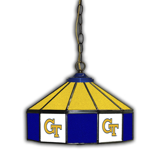 Georgia Tech Stained Glass Pub Lamp | Man Cave Authority | IMP 333-3004
