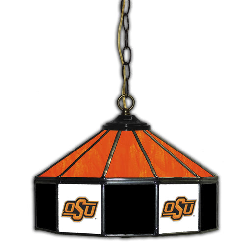 Oklahoma State University Stained Glass Pub Lamp | Man Cave Authority | IMP 333-3006