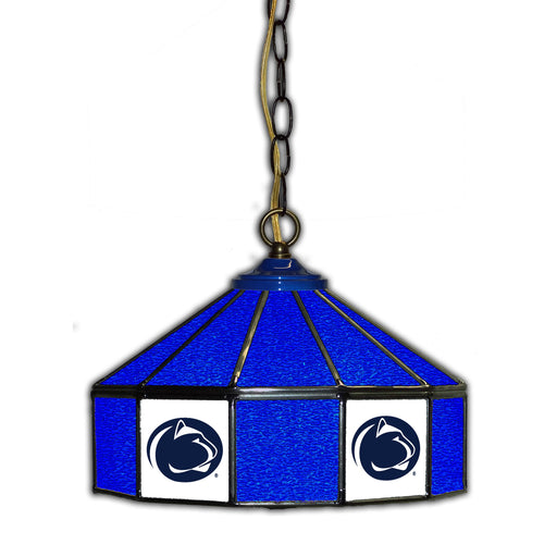 Penn State Stained Glass Pub Lamp | Man Cave Authority | IMP 333-3017