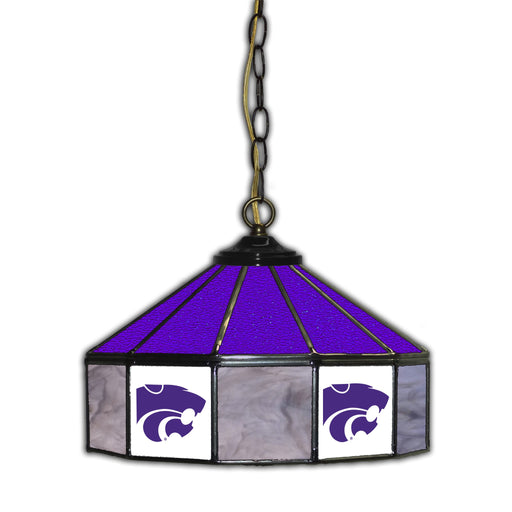 Kansas State University Stained Glass Pub Lamp | Man Cave Authority | IMP 333-3023