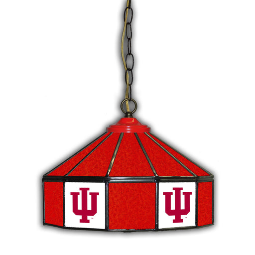 Indiana University Stained Glass Pub Lamp | Man Cave Authority | IMP 333-3029