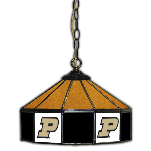Purdue Stained Glass Pub Lamp | Man Cave Authority | IMP 333-3030