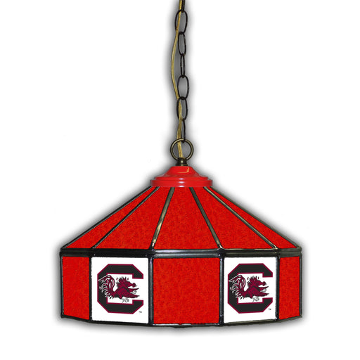 University of South Carolina Stained Glass Pub Lamp | Man Cave Authority | IMP 333-3036