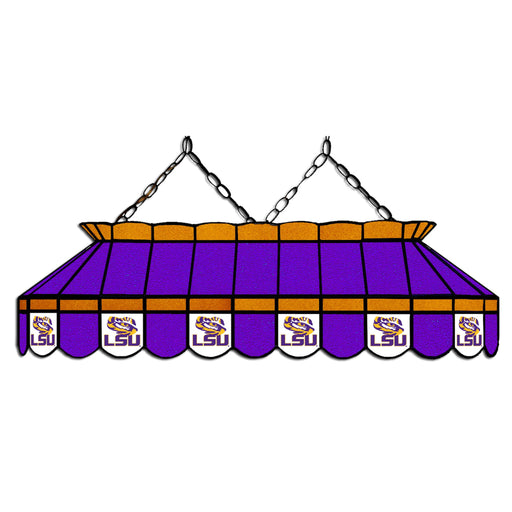Louisiana State University Stained Glass Pool Table Lamp | Man Cave Authority | IMP 333-3105