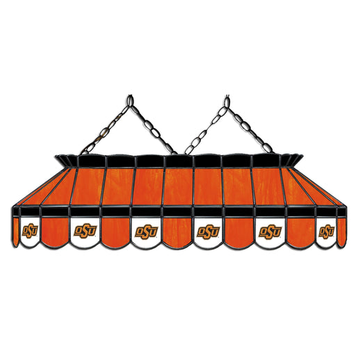 Oklahoma State University Stained Glass Pool Table Lamp | Man Cave Authority | IMP 333-3106