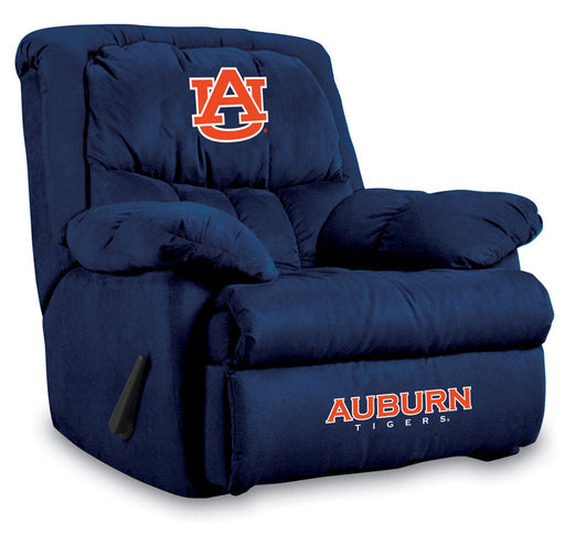 Auburn University Microfiber Home Team Recliner | Man Cave Authority | IMP 341-3002