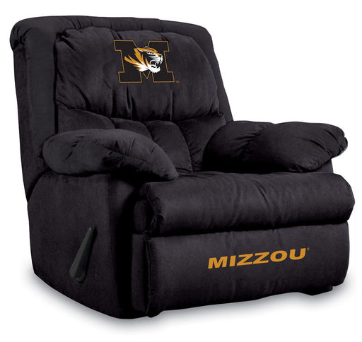 University Of Missouri Microfiber Home Team Recliner | Man Cave Authority | IMP 341-3019