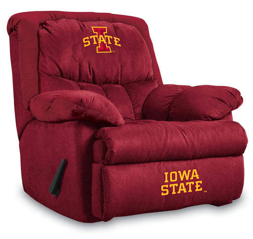 Iowa State University Microfiber Home Team Recliner | Man Cave Authority | IMP 341-3024