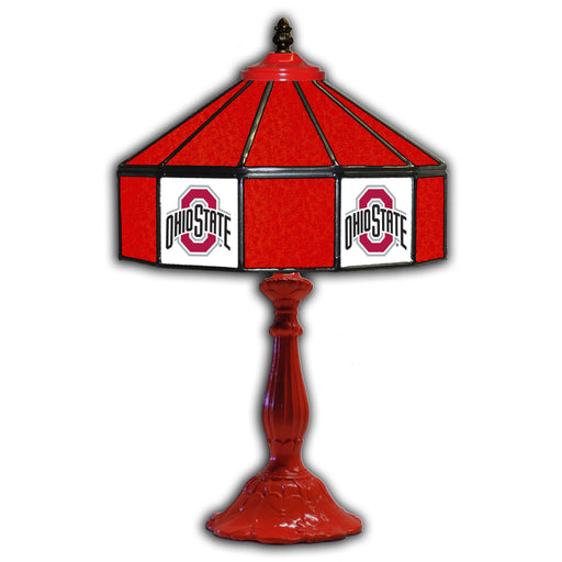 Ohio State Table Lamp | Man Cave Authority | IMP 359-3015