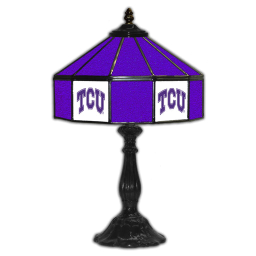 Texas Christian University Table Lamp | Man Cave Authority | IMP 359-3037