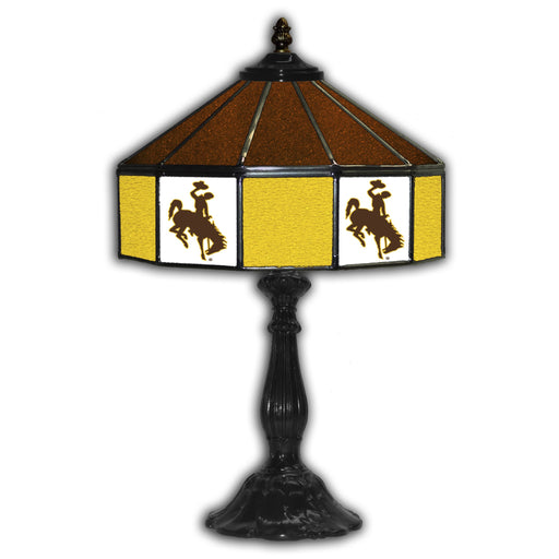 University of Wyoming Table Lamp | Man Cave Authority | IMP 359-3039