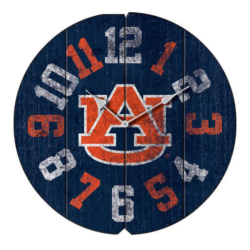 Auburn University Vintage Round Clock | Man Cave Authority | IMP 372-3002