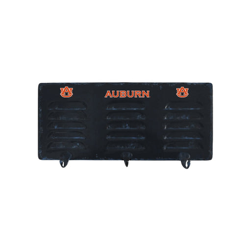 Auburn University 3 Hook Metal Coat Rack | Man Cave Authority | IMP 373-3002