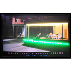 Blvd of Broken Dreams Neon/LED Picture | Man Cave Authority | 3BBDNL
