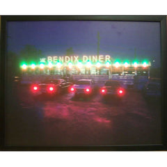 Bendix Diner LED Poster | Man Cave Authority | 3BENDX