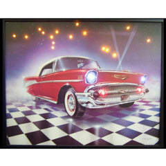 57 Chevy LED Poster | Man Cave Authority | 3CHEVY