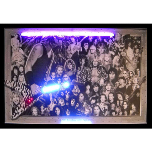 Heavy Metal Neon/LED Picture | Man Cave Authority | 3HEAVY