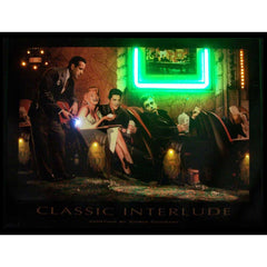 Classic Interlude Neon/LED Picture | Man Cave Authority | 3INTNL
