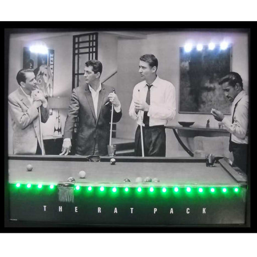 Rat Pack LED Poster | Man Cave Authority | 3RATPL