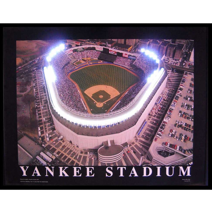 Yankee Stadium Neon/LED Picture | Man Cave Authority | 3YANNL