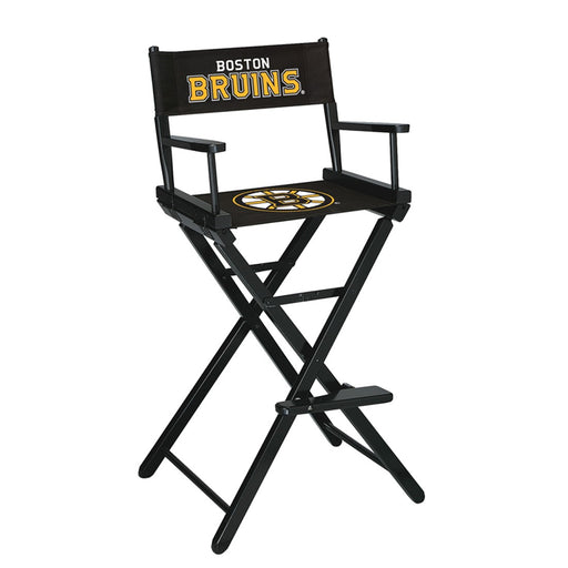 Boston Bruins Bar Height Directors Chair | Man Cave Authority | IMP 400-4101