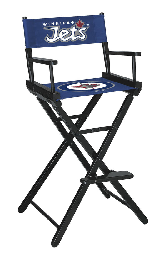 Winnipeg Jets Bar Height Directors Chair | Man Cave Authority | IMP 400-4107