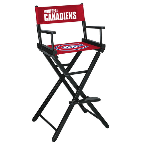 Montreal Canadiens Bar Height Directors Chair | Man Cave Authority | IMP 400-4109