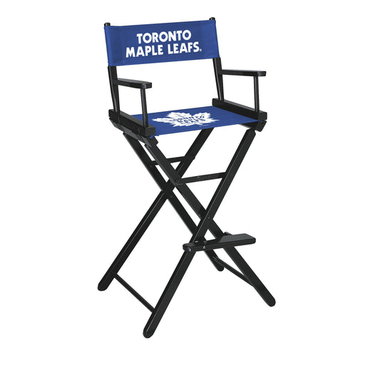 Toronto Maple Leafs Bar Height Directors Chair | Man Cave Authority | IMP 400-4110