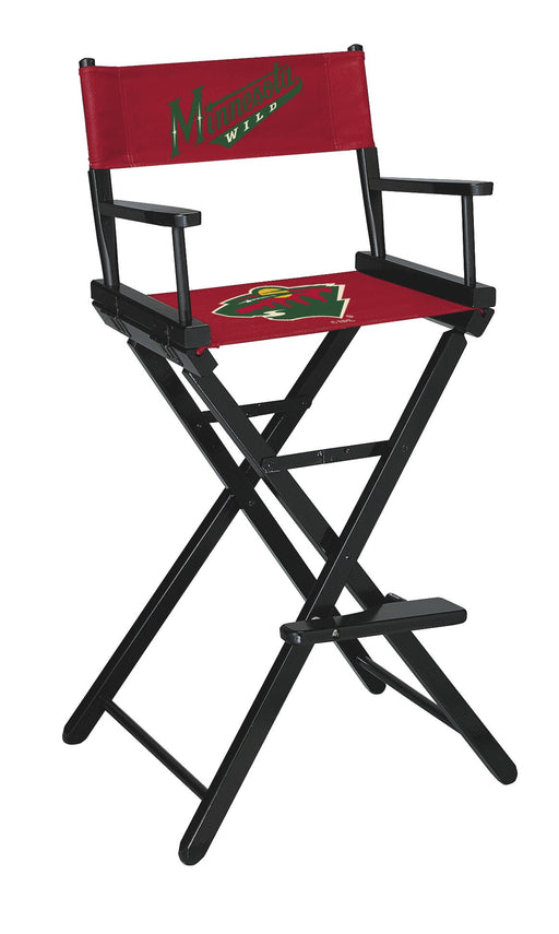 Minnesota Wild Bar Height Directors Chair | Man Cave Authority | IMP 400-4123