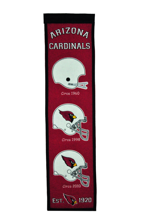 Arizona Cardinals Heritage Banner | Man Cave Decor | 44047