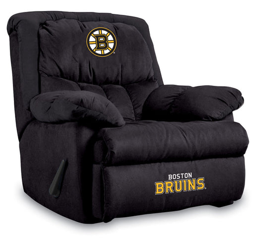 Boston Bruins Microfiber Home Team Recliner | Man Cave Authority | IMP  441-4101