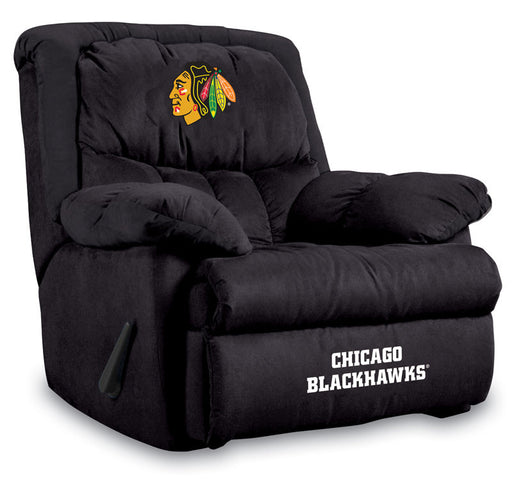 Chicago Blackhawks Microfiber Home Team Recliner | Man Cave Authority | IMP  441-4102
