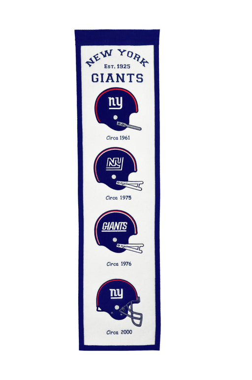 New York Giants Fan Favorites Banner | Man Cave Decor | 44209