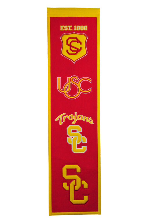 University of Southern California Heritage Banner | Man Cave Decor | 45020