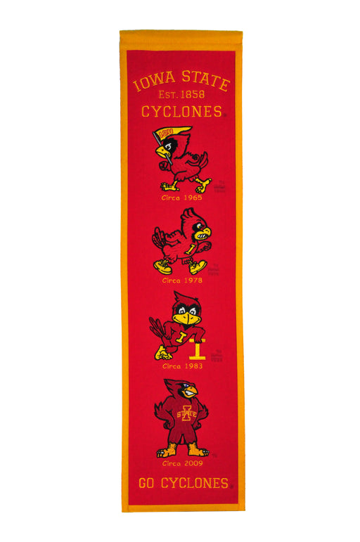Iowa State University Heritage Banner | Man Cave Decor | 45031