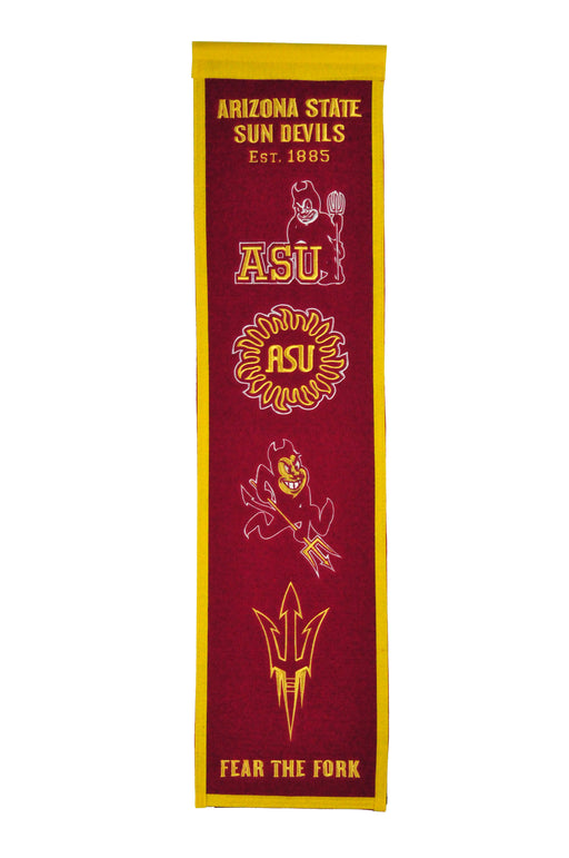 Arizona State University Heritage Banner | Man Cave Decor | 45063