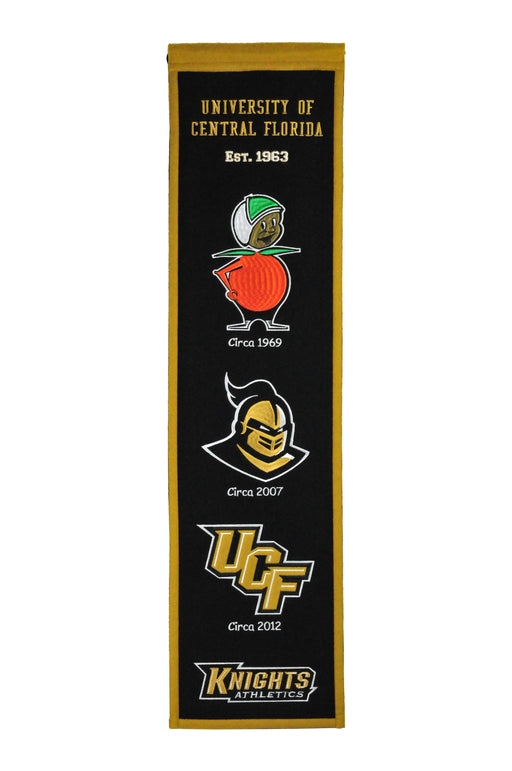 Central Florida University Heritage Banner | Man Cave Decor | 45141