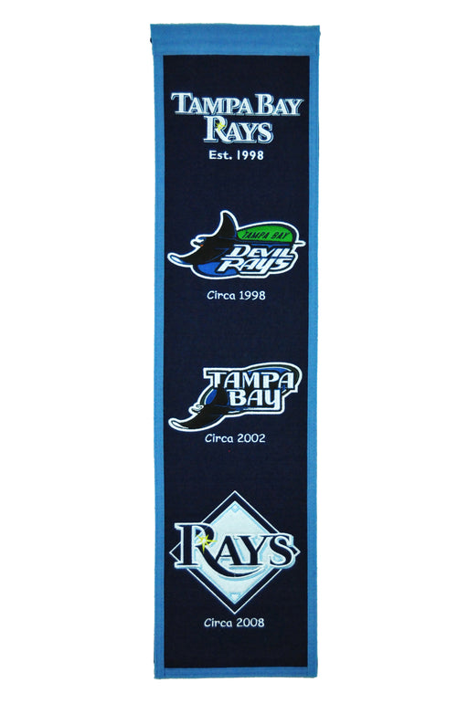 Tampa Bay Rays Heritage Banner | Man Cave Decor | 46038