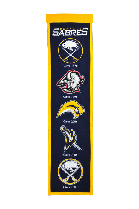 Buffalo Sabres Heritage Banner | Man Cave Decor | 47004
