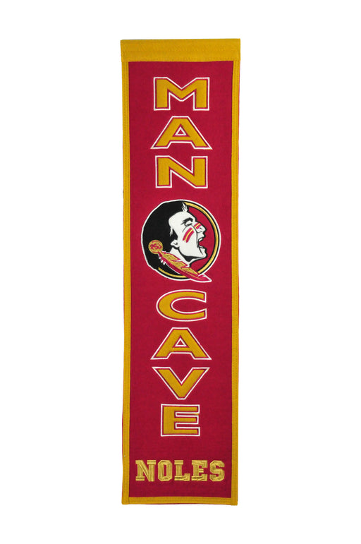 Florida State University Man Cave Banner | Man Cave Decor | 49025